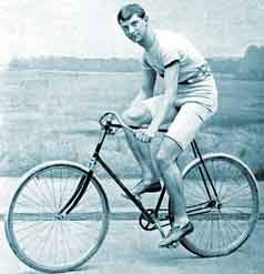 Arthur Zimmerman Cycling Champion