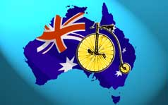 Ordinary Bicycle in Australia