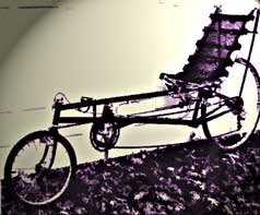 David Gordon Wilson's LWB recumbent bicycle