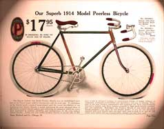 1914 Model Peerless Bicycle