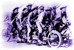 Boer War Cyclists