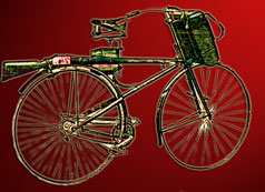 British Army Bicycle