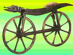 Where was the bicycle invented?