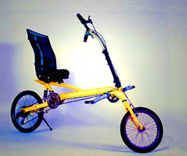 Recumbent Bicycle on Clwb Recumbent Bicycles   The Compact Long Wheelbase Makes A Terrific