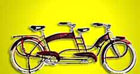 Cool Tandem Bicycle