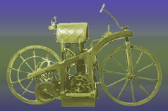 Daimler Motorized Bicycle