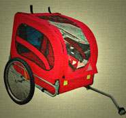 dog bicycle trailer 2