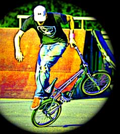 Freestyle BMX Bike Riding