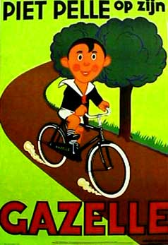 Gazelle Bicycle Poster