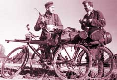 German Military Cyclists