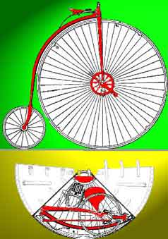 Grout's Portable Bicycle