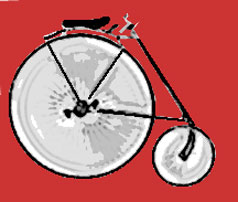 High Wheel Safety Bicycle
