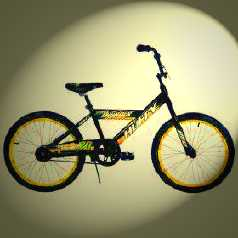 The Huffy BMX Bicycle