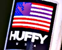 Huffy Bicycles Flag Logo