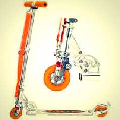 The Huffy Micro Scooter