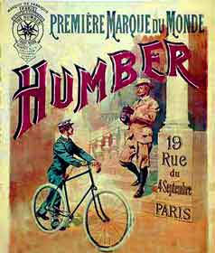 Humber Bicycle Poster