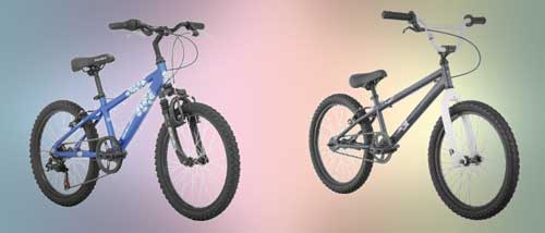Kids Mountain Bikes vs Single Speeed Bikes