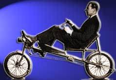 Mochet's Recumbent Bicycle