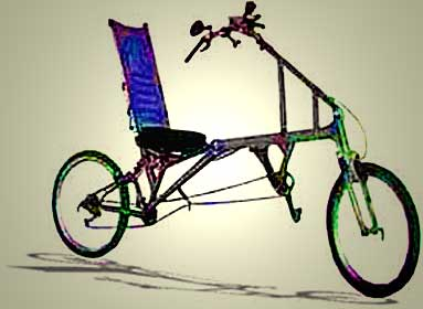 Recumbent Off Road Bicycle