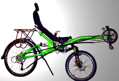 Recumbent Bicycle on Omega Recumbent Bicycle