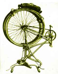 Folding Paratrooper Bicycle