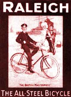 Raleigh Cycles Poster