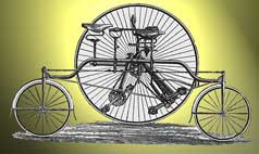 Rudge Rotary Tandem Tricycle