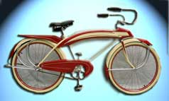 Shelby's Airflow Bicycle