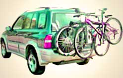 spare tire bike car rack