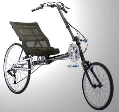Sun's Tomahawk Recumbent Bicycle
