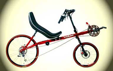 Volae Century SWB Recumbent Bicycle