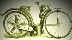 Theodore's Motorized Bicycle