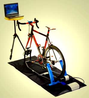 Virtual Reality Trainer An Indoor Smart Bike Trainer Is